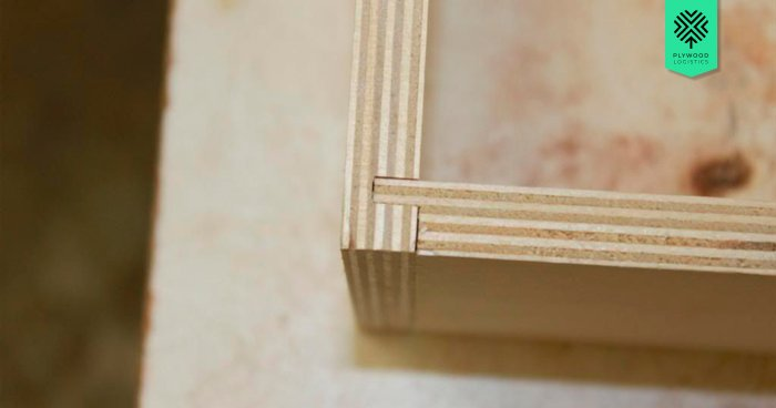 Baltic plywood joints