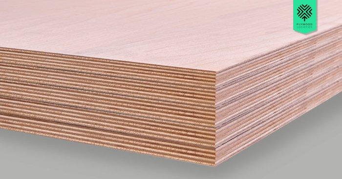 Baltic birch plywood line pattern